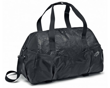 Сумка Lotto Bag Fitness W S4328 Black/Titan Grey