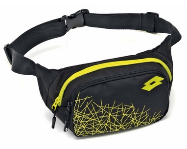 Сумка Lotto Waistbag LZG III S4351 Black/Yellow Safety