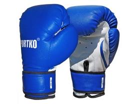 Перчатки боксерские Sportko PD-2BL-10 10 Oz синие