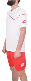 Фото 2 к товару Форма футбольная (шорты, футболка) Lotto Кit Sigma Q0833 White