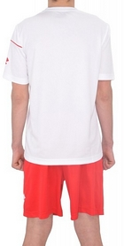 Фото 3 к товару Форма футбольная (шорты, футболка) Lotto Кit Sigma Q0833 White