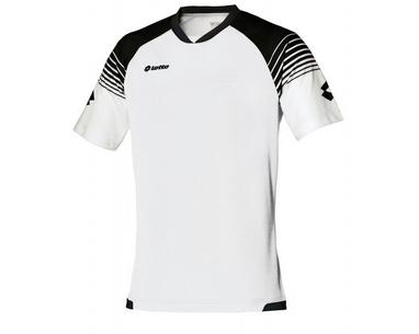 Футболка футбольная Lotto Jersey Omega Q7983 White/Black