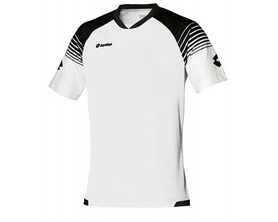 Футболка футбольная Lotto Jersey Omega Q7983 White/Black