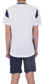 Фото 3 к товару Форма футбольная (шорты, футболка) Lotto Kit Stars EVO R9688 Royal/White