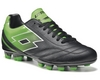 Бутсы футбольные Lotto Spider X TX R5743 Black/Fluo Mint - фото 1