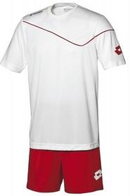 Фото 1 к товару Форма футбольная детская (шорты, футболка) Lotto Кit Sigma JR Q2818 White