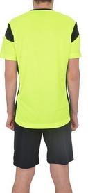 Фото 3 к товару Форма футбольная (шорты, футболка) Lotto Kit Stars EVO R9692 Fluo Yellow/Black
