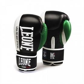 Фото 1 к товару Перчатки боксерские Leone Contender Black
