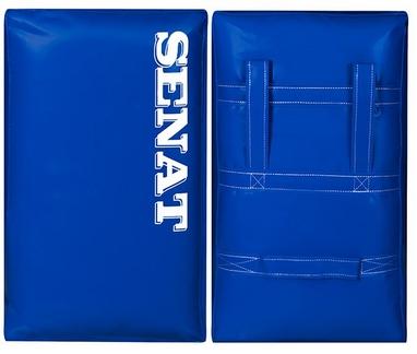 Макивара двойная Senat 58х38х17 см синяя