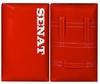 Макивара двойная Senat 48х28х12см красная - фото 1