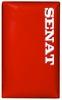 Макивара двойная Senat 48х28х12см красная - фото 2
