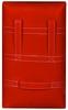 Макивара двойная Senat 48х28х12см красная - фото 3