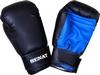 Перчатки боксерские Senat 1512 черно-синие - фото 1
