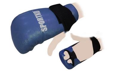 Накладки для карате Sportko NK-2-R синие