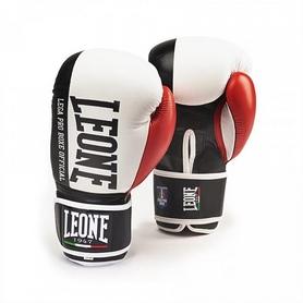 Перчатки боксерские Leone Contender White