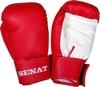 Перчатки боксерские Senat 1550 красно-белые - фото 1