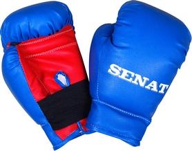 Перчатки боксерские Senat 1536 сине-красные 4 oz