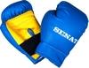 Набор юного боксера Senat 1482 сине-желтый - фото 4