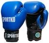 Перчатки боксерские Sportko ФБУ PK-1BL синие - фото 1