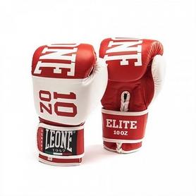 Фото 1 к товару Перчатки боксерские Leone Elite Red
