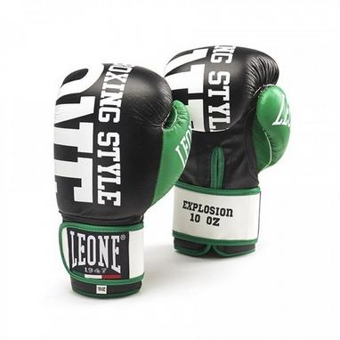 Перчатки боксерские Leone Explosion Black
