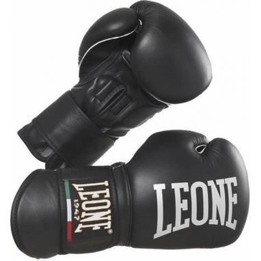 Перчатки боксерские Leone Professional Black