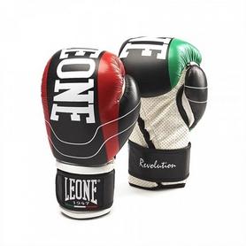 Перчатки боксерские Leone Revolution Black