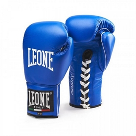 Перчатки боксерские Leone Supreme Blue