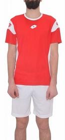 Форма футбольная (шорты, футболка) Lotto Kit Stars EVO R9690 Flame/White