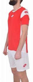 Фото 2 к товару Форма футбольная (шорты, футболка) Lotto Kit Stars EVO R9690 Flame/White