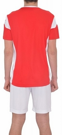 Фото 3 к товару Форма футбольная (шорты, футболка) Lotto Kit Stars EVO R9690 Flame/White