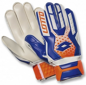 Перчатки вратарские Lotto Glove GK Spider 800 S4046 White/Blue Shiver