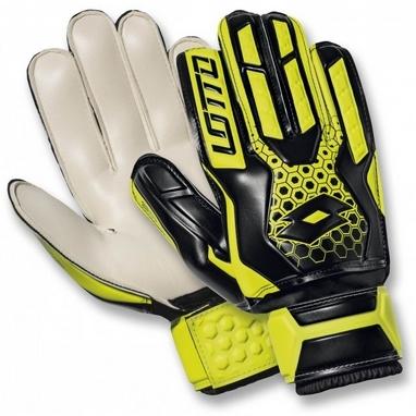 Перчатки вратарские Lotto Glove GK Spider 800 S4047 Ylw Saf/Blk