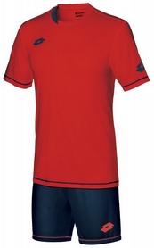 Форма футбольная (шорты, футболка) Lotto Kit Sigma EVO S3705 Flame/Navy