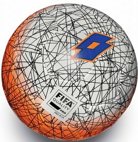 Мяч футбольный Lotto Ball FB100 LZG 5 S4052 White/Blue Shiver – 5