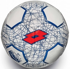 Мяч футбольный Lotto Ball FB700 LZG 4 S4069 White/Red Fluo - 4