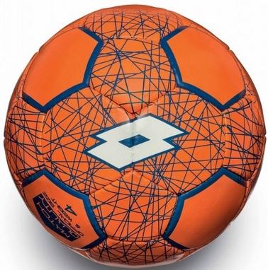 Мяч футбольный Lotto Ball FB700 LZG 4 S4070 Fanta Fluo/White - 4