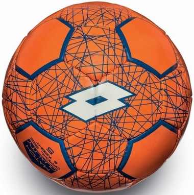 Мяч футбольный Lotto Ball FB700 LZG 5 S4073 Fanta Fluo/White - 5