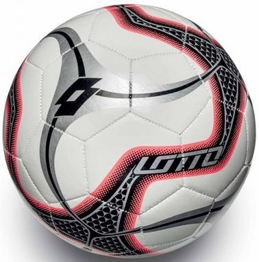 Мяч футбольный Lotto Ball FB1000 Blade 5 S4077 White/Red Fluo - 5