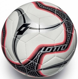 Фото 1 к товару Мяч футбольный Lotto Ball FB1000 Blade 5 S4077 White/Red Fluo - 5