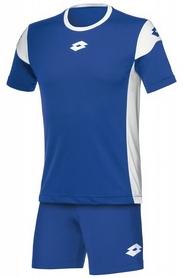 Форма футбольная детская Lotto Kit Stars EVO JR R9739 Royal/White