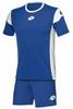 Форма футбольная детская Lotto Kit Stars EVO JR R9739 Royal/White - фото 1