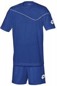 Фото 1 к товару Форма футбольная детская (шорты, футболка) Lotto Кit Sigma JR Q2819 Royal