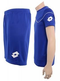 Фото 3 к товару Форма футбольная детская (шорты, футболка) Lotto Кit Sigma JR Q2819 Royal