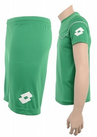 Фото 3 к товару Форма футбольная детская (шорты, футболка) Lotto Кit Sigma JR Q3523 Grass