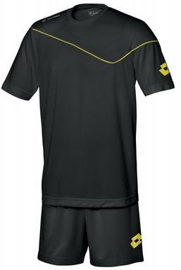 Форма футбольная детская (шорты, футболка) Lotto Кit Sigma JR Q2821 Black