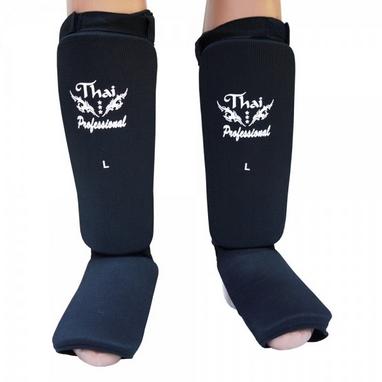 Защита ног (голень+стопа) Thai Professional SG5 черная