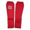 Защита ног (голень+стопа) Thai Professional SG5 красная - фото 2
