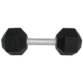 Фото 1 к товару Гантель профессиональная шестигранная Newt Profi 9 кг