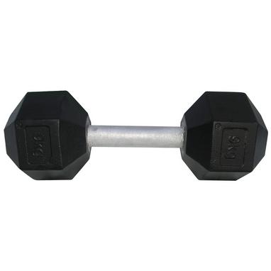 Гантель профессиональная шестигранная Newt Profi 9 кг